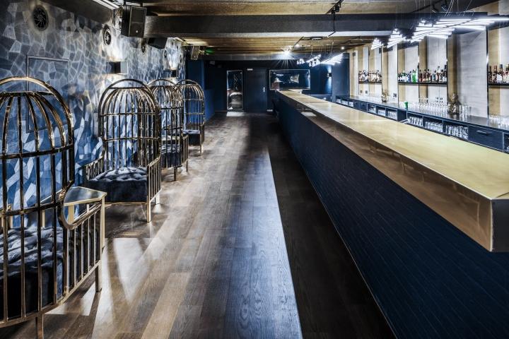 Lexy nightclub by dyer smith frey z rich switzerland for Interior design zurich switzerland