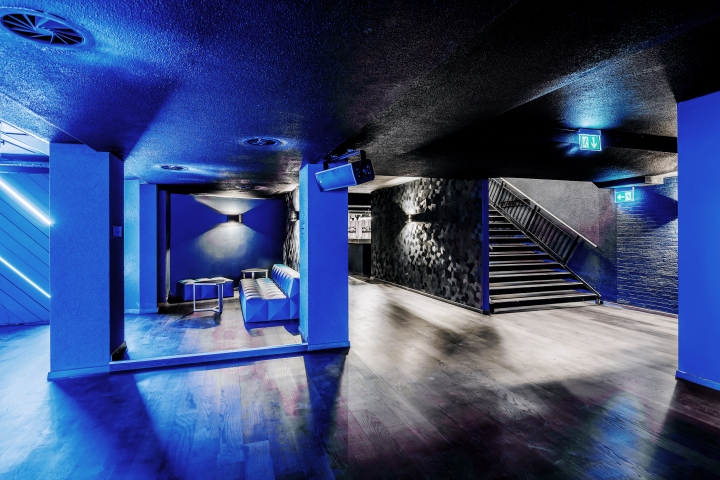 Lexy nightclub by dyer smith frey z rich switzerland for Interior design zurich