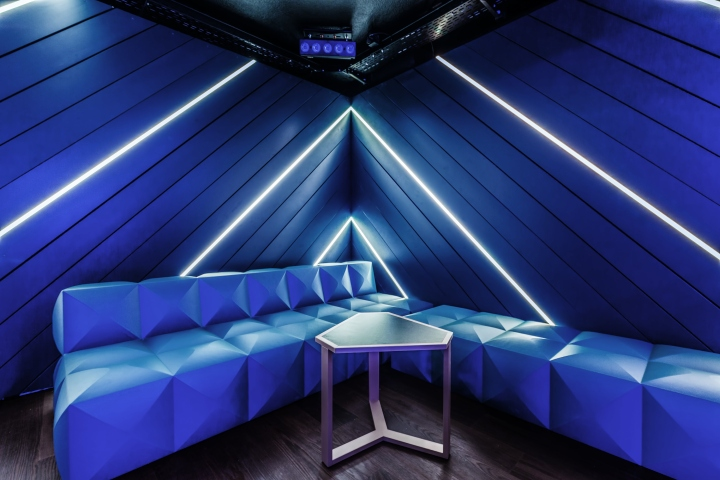 The Nightclub LEXY Stands For Geometry, Clarity And Kinetics. Interior  Design Duo DYER SMITH FREY Has Conceived The New Nightclub LEXY In Zurich,  ...