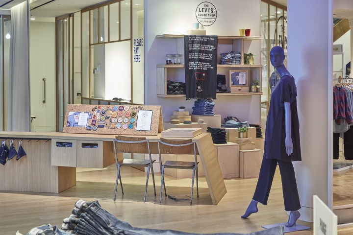 The Levis Tailor Shop Launched On 7 July And Will Run To 8 August Range Of Services Offer Even Includes Limited Edition Embroidered Patches