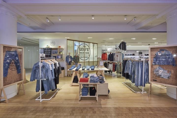 Levis Pop Up Tailor Shop Workshop At Selfridges By Lucky Fox London UK