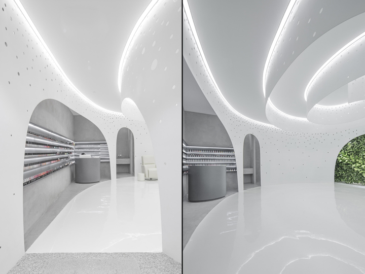 Lily Nails Salon By Arch Studio Beijing China