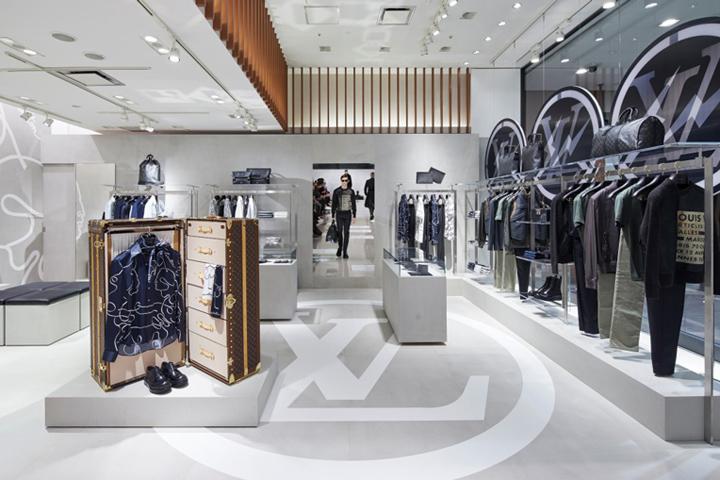 following the huge success of last yearus popup store at isetan louis vuittonus menswear designer kim jones has returned to the illustrious department