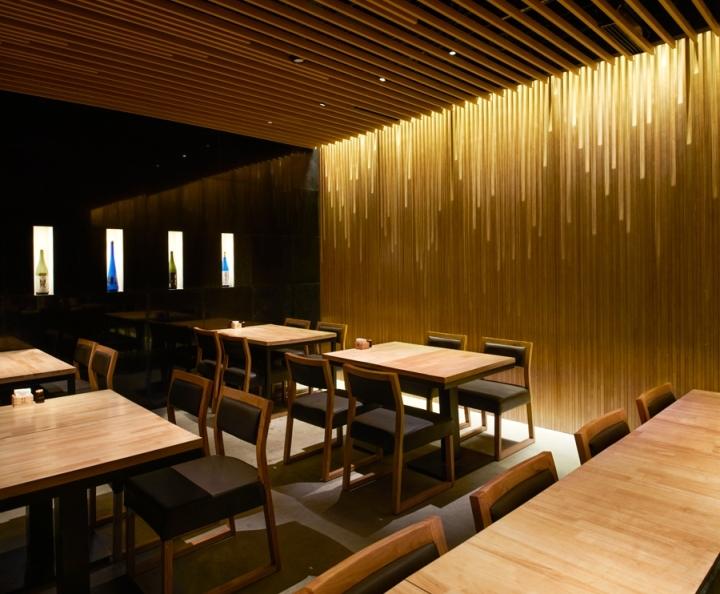Restaurant Interior Design Firms In Massachusetts : Manzo liang ma qiao restaurant by tsutsumi associates