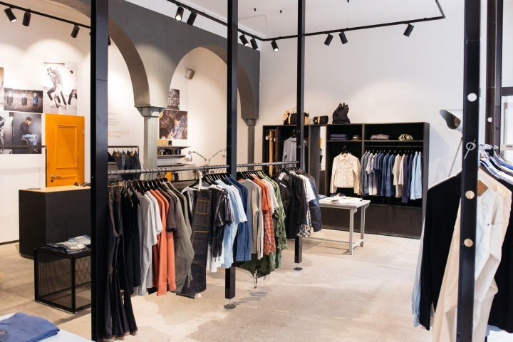 Nudie jeans repair shop munich germany retail design blog for Boden shops deutschland