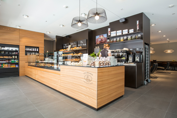 Nussbaumer Bakery Cafe By Barmade Interior Design Zug
