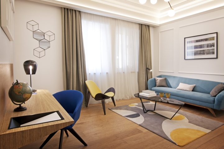 One shot hotel palace reina victoria by alfaro manrique for Design hotel valencia
