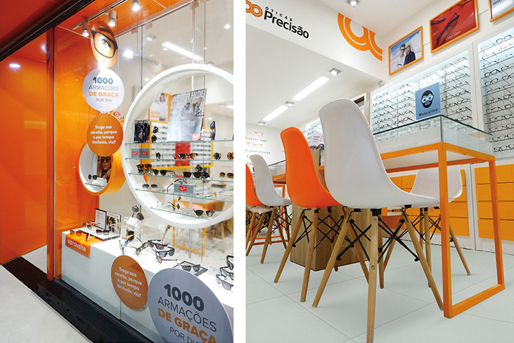 2f9c883b18da8 For the redesign of the Óticas Precisão brand, a retail chain with over 80  optical stores located in the brazilian states of Rio de Janeiro and Minas  Gerais ...