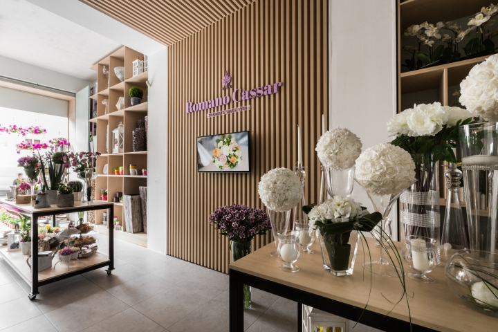 Flowers retail design blog for Designs east florist interior