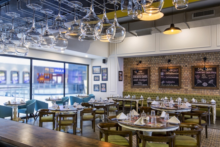 187 Salt Restaurant Bar Amp Grill By Choreography Of Spaces
