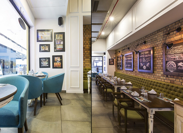Salt restaurant bar grill by choreography of spaces