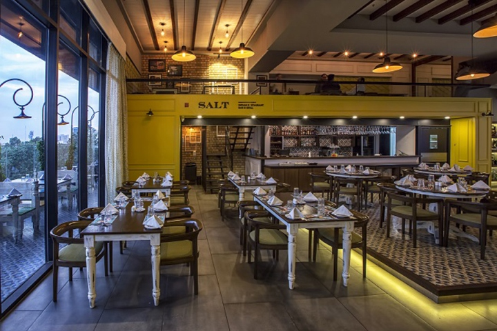 Salt Restaurant Bar Grill By Choreography Of Spaces Bangalore India Retail Design Blog