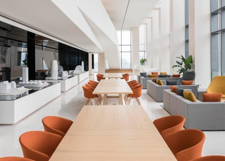 Soho china office showroom by aim architecture shanghai for Soho interior design ideas