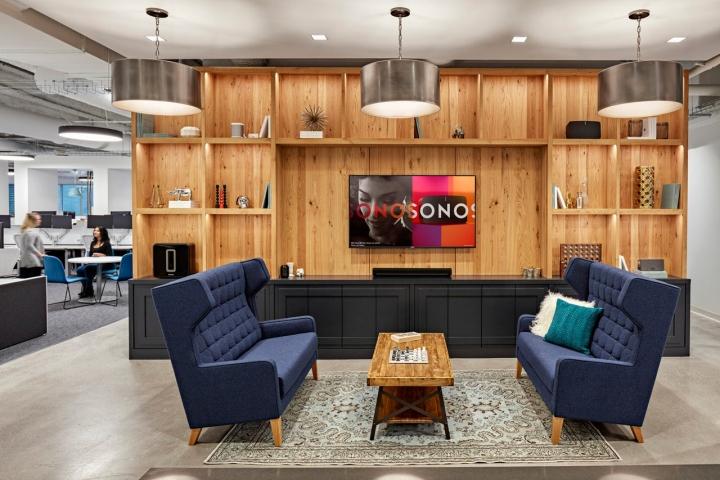 Sonos offices by ia interior architects boston - Interior design schools in boston ...