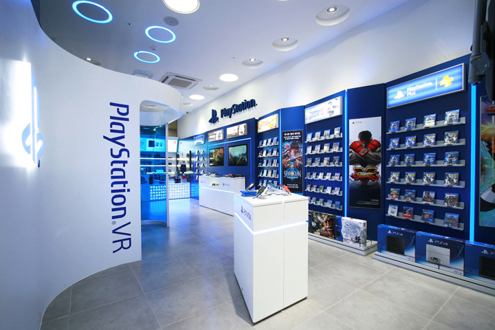 Sony PlayStation Store By Studio IMA Sejong South Korea