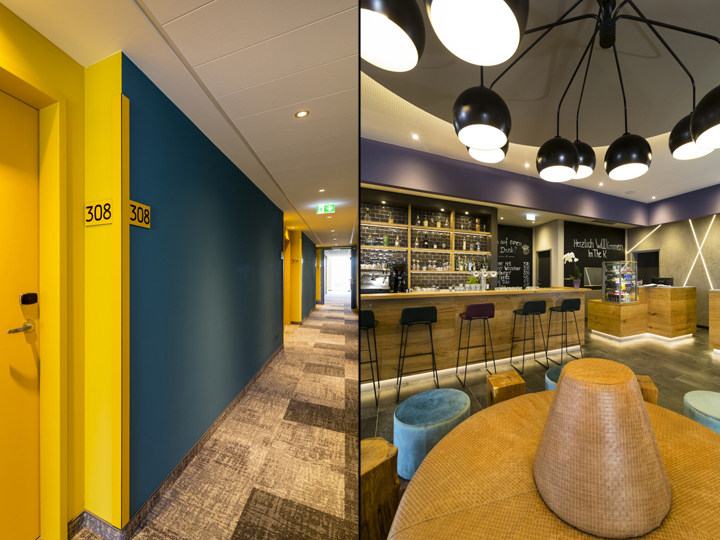 The k best western hotel by kitzig interior design for Kitzig interior design gmbh