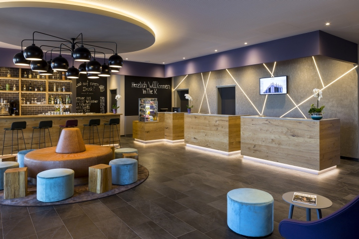 The k best western hotel by kitzig interior design for Top design hotels deutschland