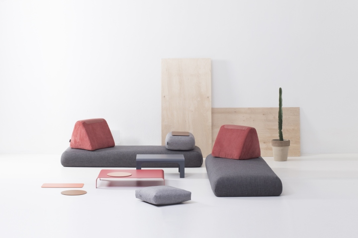 Urban Nomad sofa system by Hannabi » Retail Design Blog
