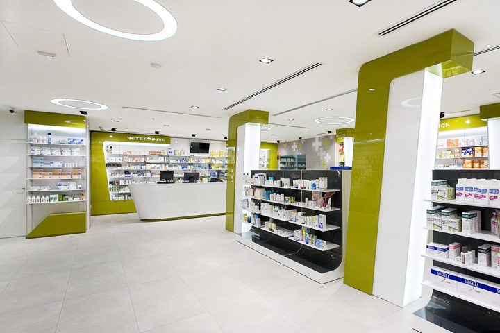 verghera pharmacy by arketipo design samarate italy - Pharmacy Design Ideas