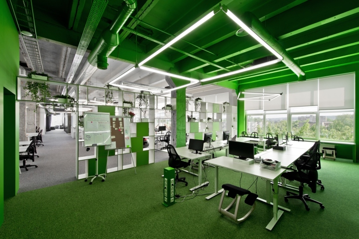 a7d80476cad6 VINTED is the place where community and staff are connected by common  ideas, work environment and friendly office spaces. The new office of 600  square ...