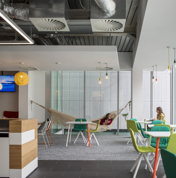 » Viccarbe Furniture At Hostelworld Office, Dublin