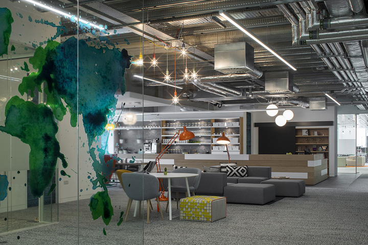 Viccarbe Furniture At Hostelworld Office Dublin Ireland