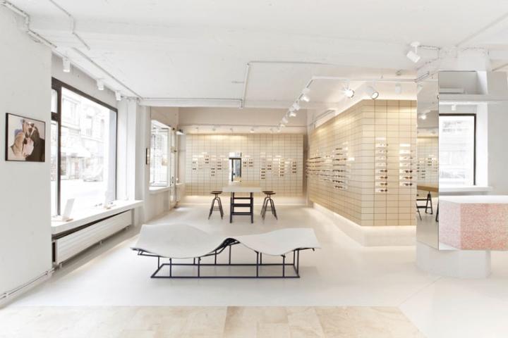 Viu store by Christian Kägi and Fabrice Aeberhard, Vienna –  Austria