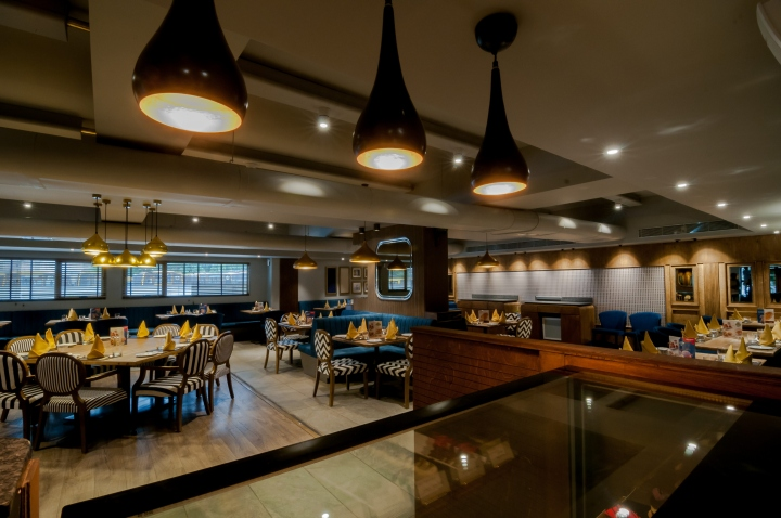 Restaurant by ido design ahmedabad india