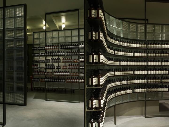 aesop store by einszu33 leipzig germany retail design. Black Bedroom Furniture Sets. Home Design Ideas