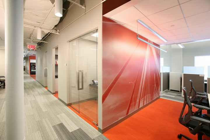Blackbaud offices by fusion design consultants cambridge for Office design usa