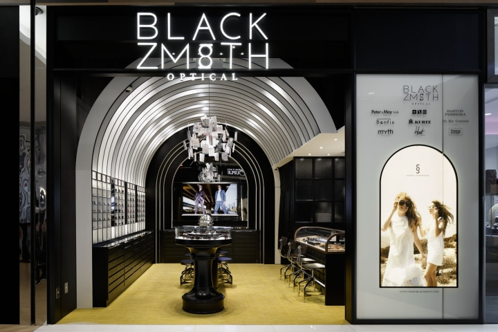 Blackzmith Eyewear Shop By STUDIO C8 Hong Kong August 23rd 2016 Retail Design Blog