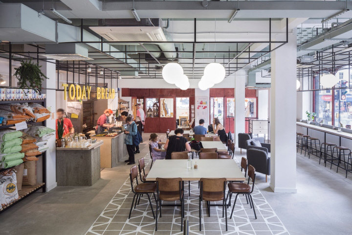 Co Working Space Amp Bakery Cafe By Gort Scott London Uk