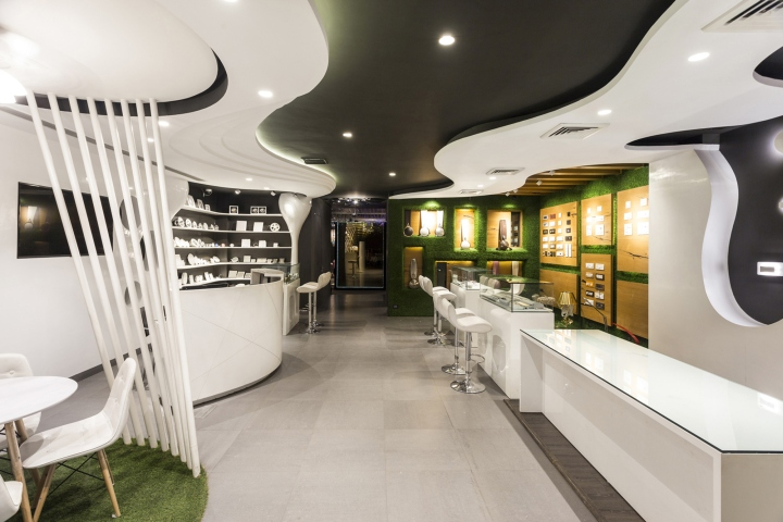 Disha electrical and lighting store by Studio Ardete, Chandigarh ...