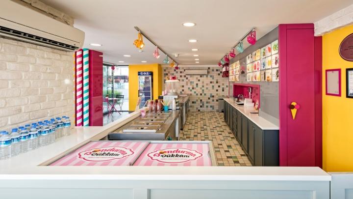 187 Dondurma D 252 Kkanı Ice Cream Shop By Kst Architecture