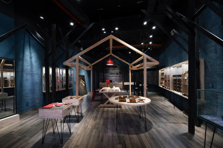 Doris de V flagship store by Red5 Studio, Ho Chi Minh City – Vietnam