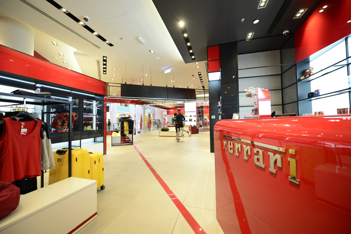 A New Ferrari Store Has Opened In The Dubai Mall, One Of The Worldu0027s  Largest Shopping Malls. This Is Also The First Flagship Store In The Middle  East To Be ...