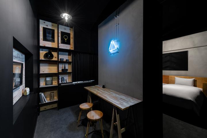 Hotel anteroom kyoto japan retail design blog for Design hotel kyoto