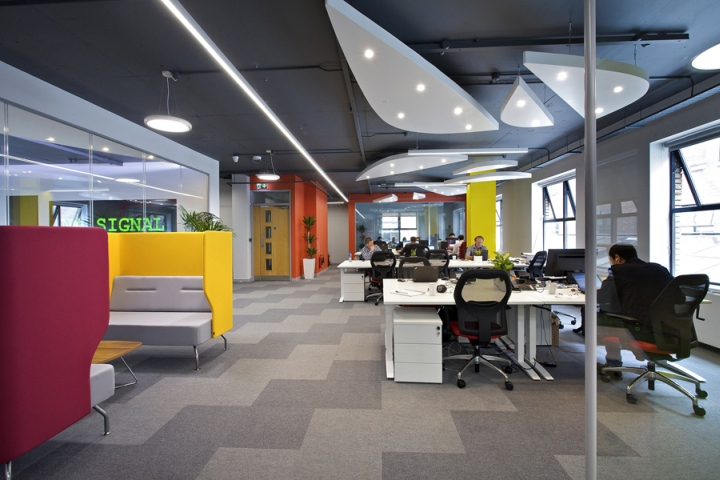 Huawei Global ICT Corporations Dublin Ireland Office Has Been Designed And Fitted Out By Codex Irelands Leading Solutions Supplier