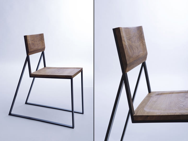K1 chair by moskou retail design blog for Metal chair design