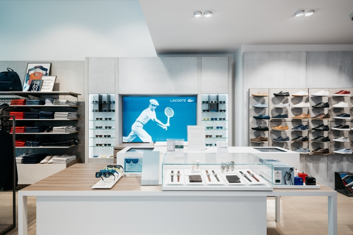 DesignLSM Have Been Working Successfully With Lacoste Since 2001 Bringing The Iconic Stores To Life Stylish And Effective Design Schemes