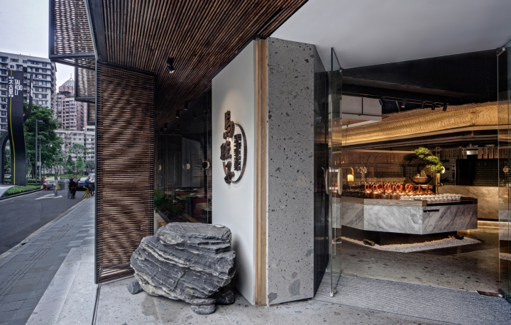 Ma s kitchen restaurant by chengdu hummingbird design