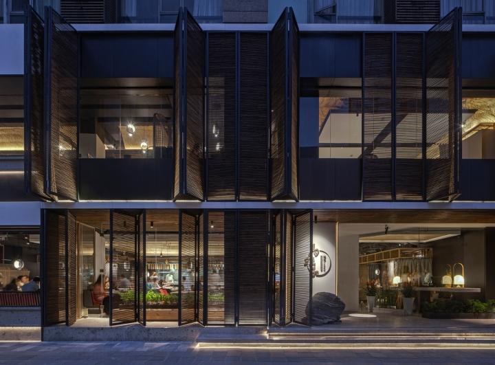 Ma s kitchen restaurant by chengdu hummingbird design for Design consultant los angeles