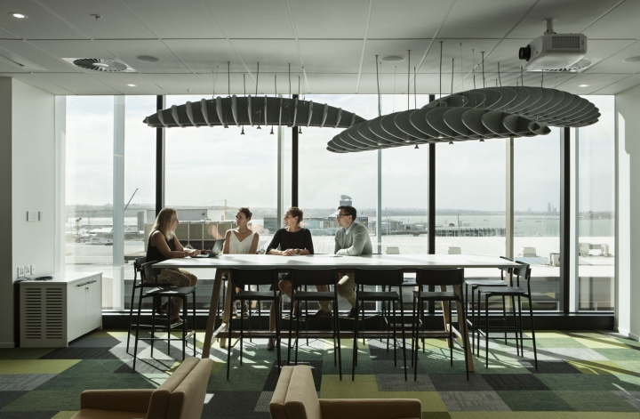 Pernod Ricard offices by Creative Spaces, Auckland – New Zealand ...
