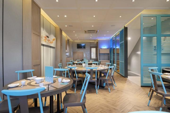 Putien restaurant by metaphor interior jakarta for Interior design jakarta