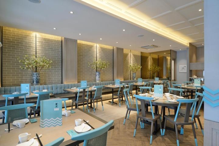 Putien restaurant by metaphor interior jakarta indonesia