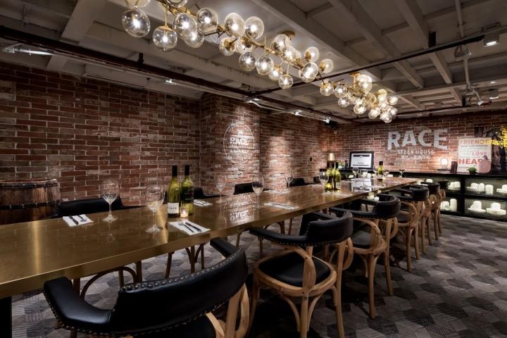 Race steak house restaurant by c dd guangzhou china