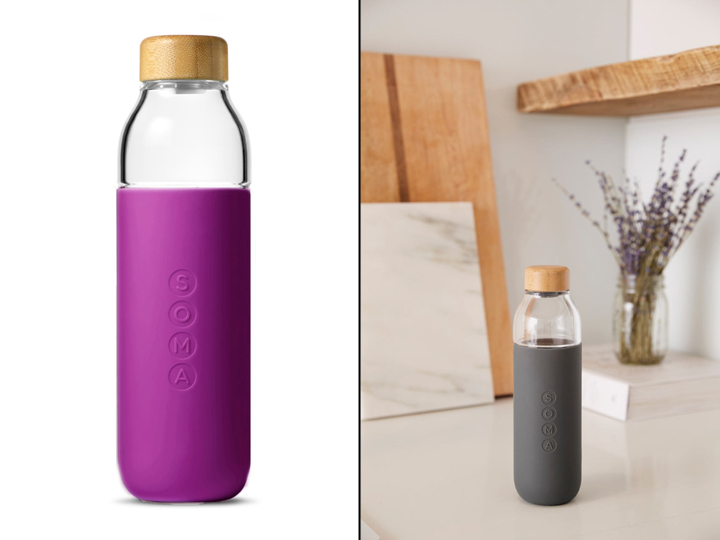 187 Soma Glass Water Bottle