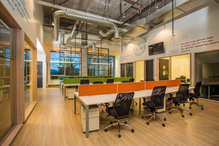 Evoke International Design Has Developed The New Coworking Offices Of  Spacekraft Located In Burnaby, Canada. Co Working Space Is A Movement  Taking Hold ...