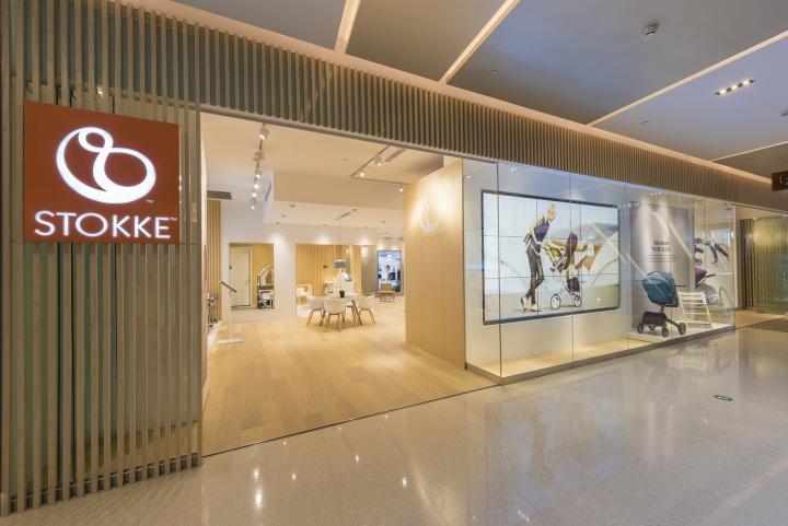 上海stokke03婴幼儿护理专卖店设计
