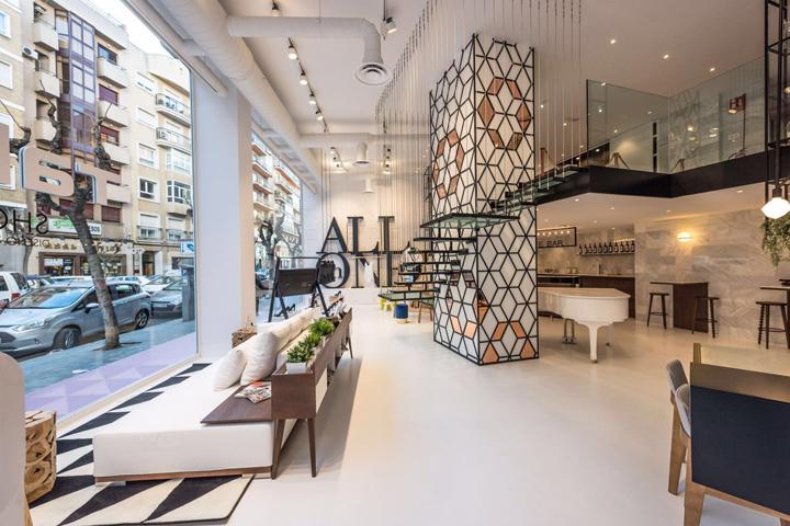 Interior Design Furniture Showrooms New Jersey ~ Talasur showroom murcia spain